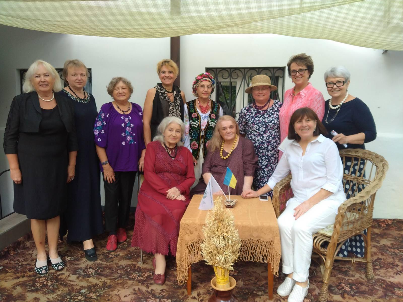 В Національній Раді Жінок України відбулася зустріч з колежанками з Канади