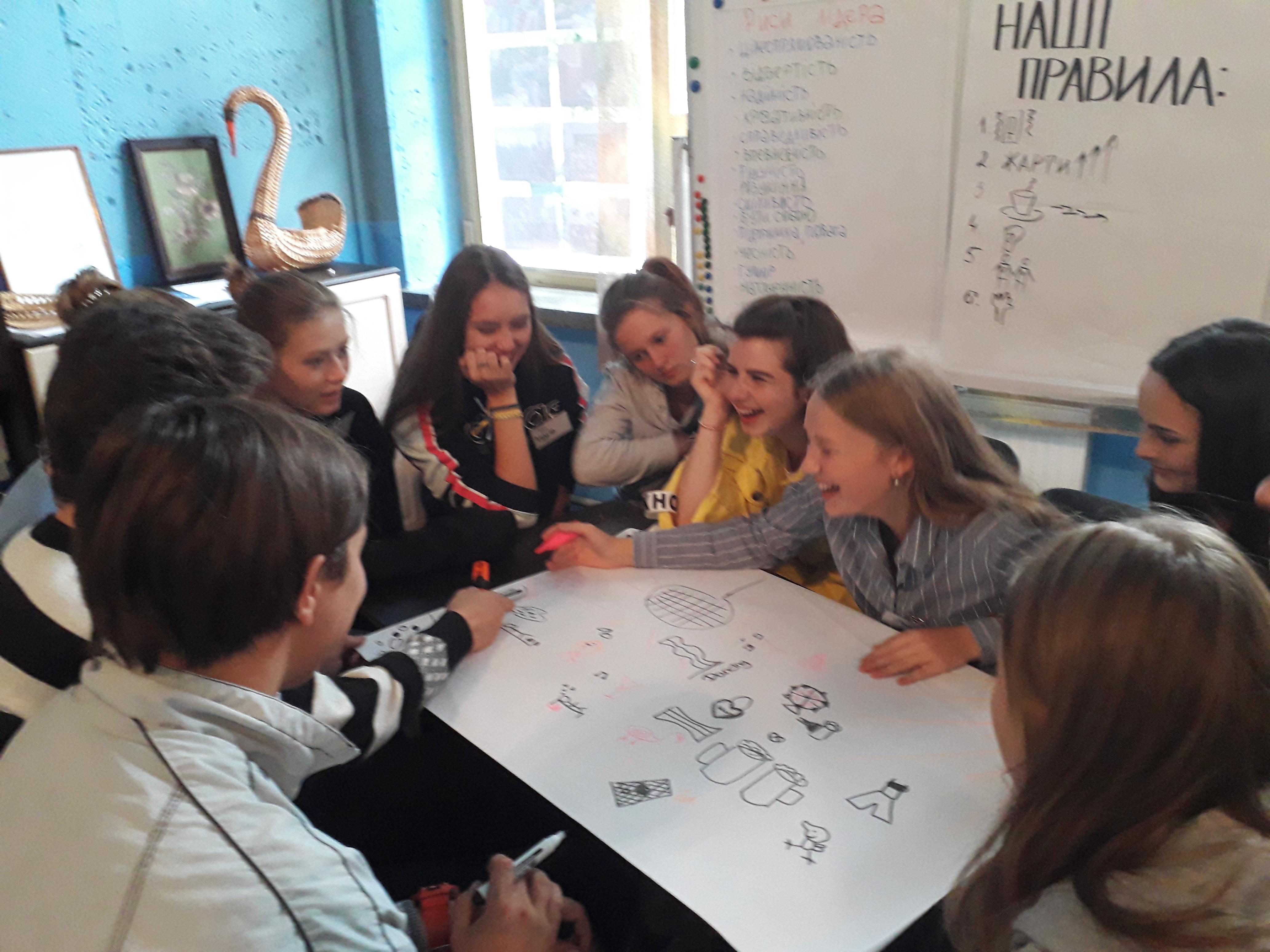 Дружня зустріч з молоддю міста-побратима Пуллах (Німеччина)