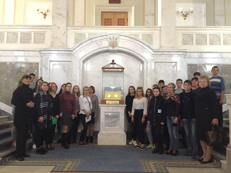 Екскурсія до залів Парламенту