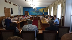 Засідання Громадської ради при Київській обласній державній адміністрації