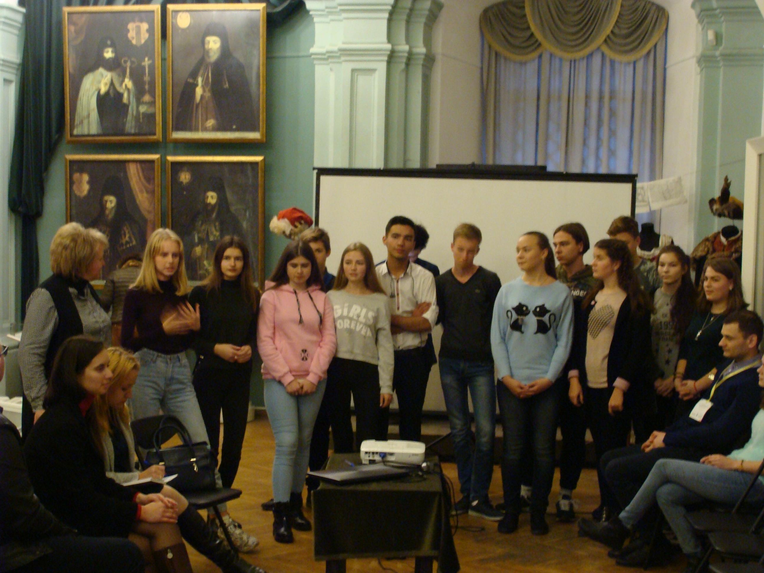 Зустріч з україно-литовською молоддю