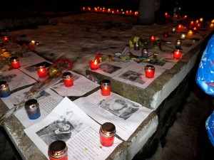 Панахида за загиблими на майдані 2014-2015